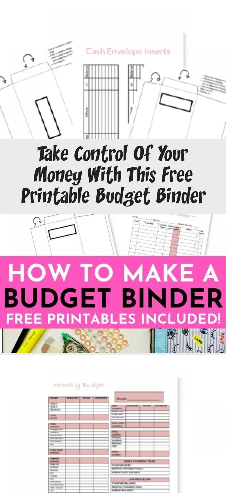 Get your free budget binder today with these budget