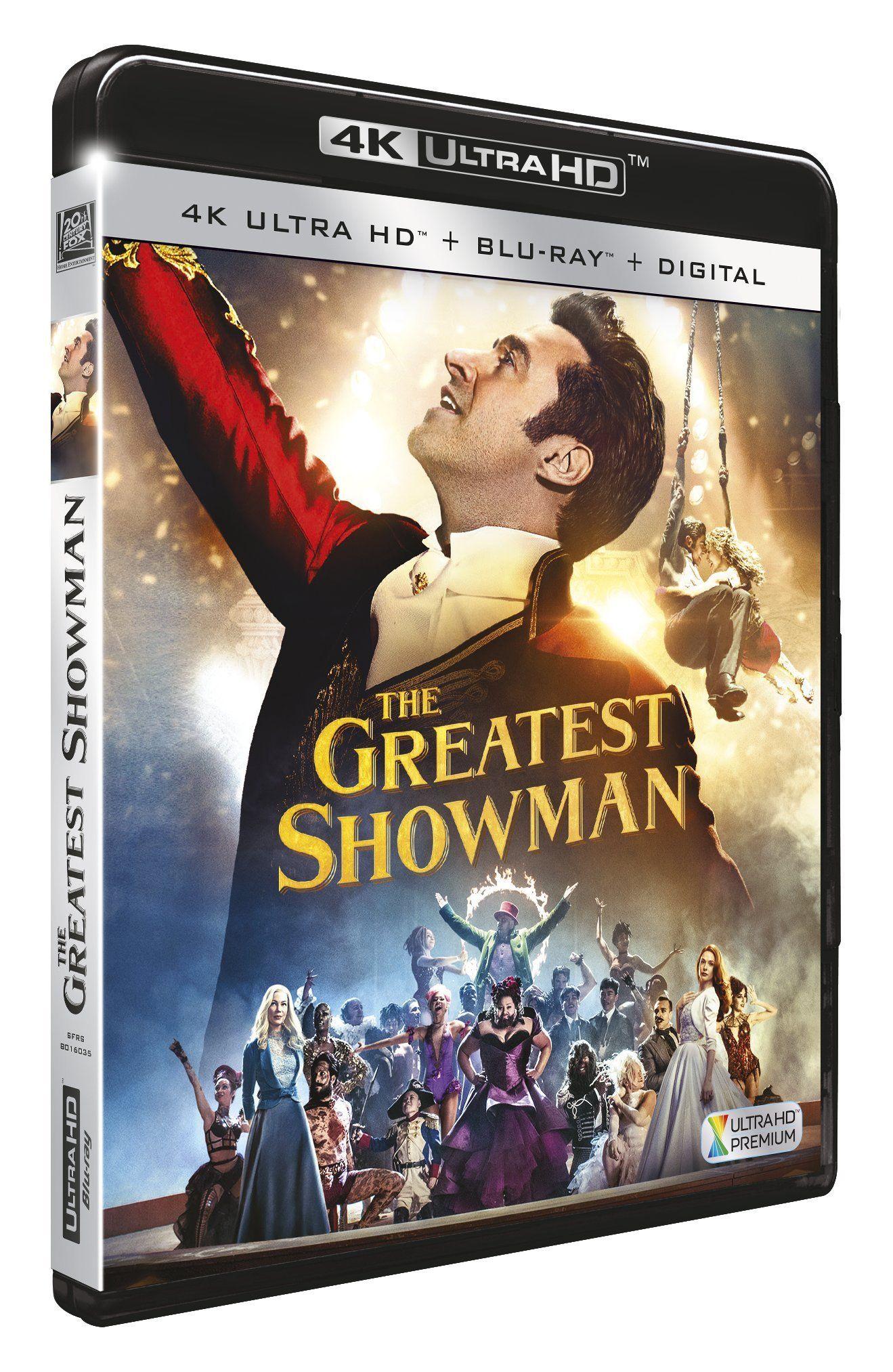 The Greatest Showman Francia Blu Ray Showman Greatest Francia Ray The Greatest Showman 4k Uhd