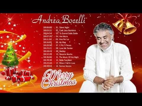 Christmas Albums 2019.Andrea Bocelli Christmas Carol 2019 Andrea Bocelli