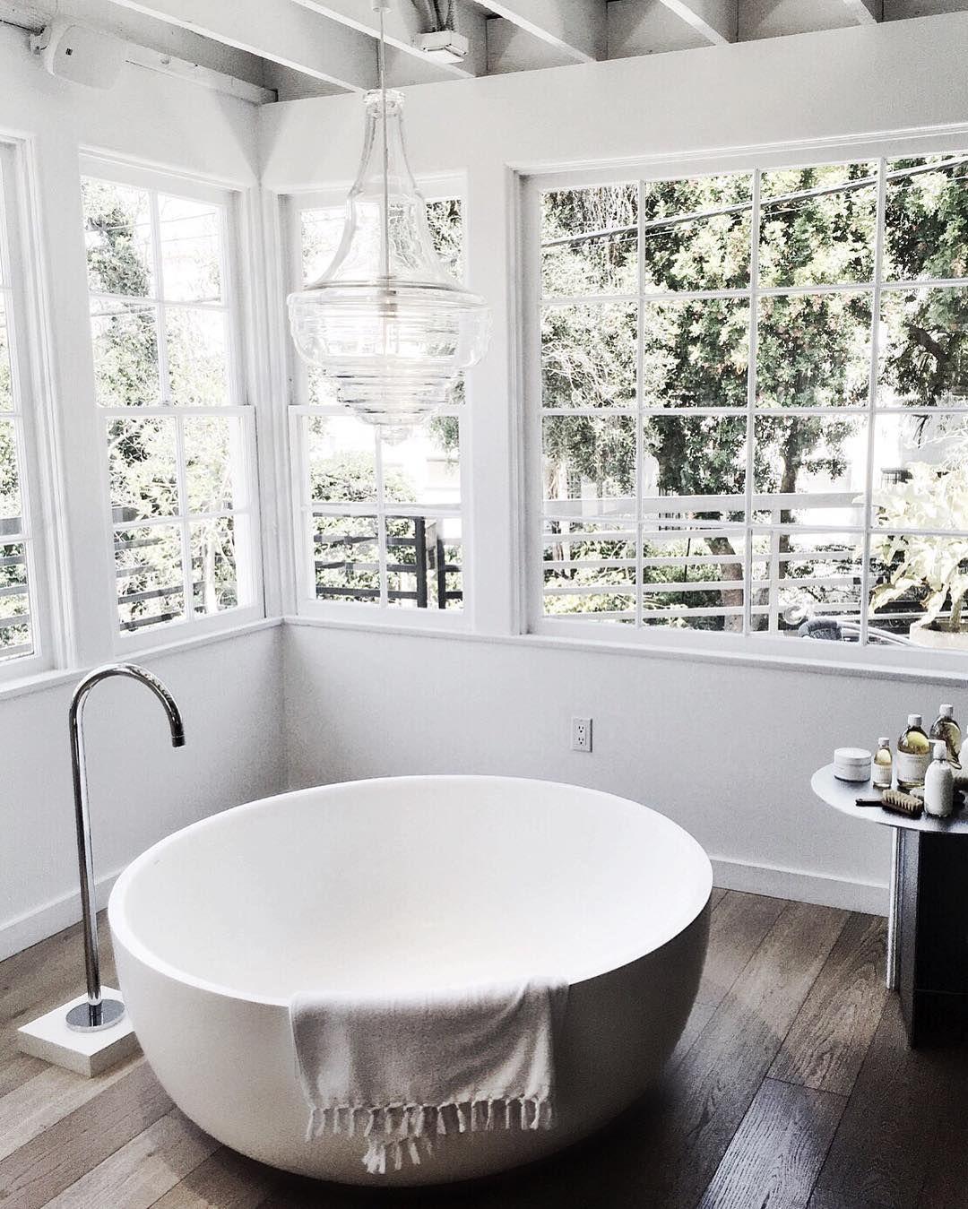 Badezimmer design natur inspiriert dream bath  home decor diy  pinterest  badezimmer haus und