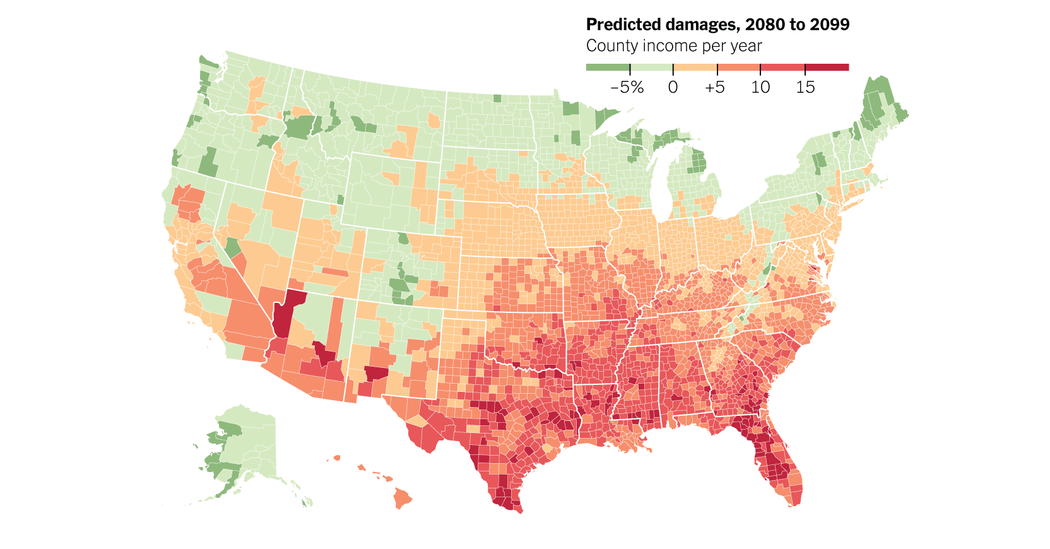 As Climate Changes Southern States Will Suffer