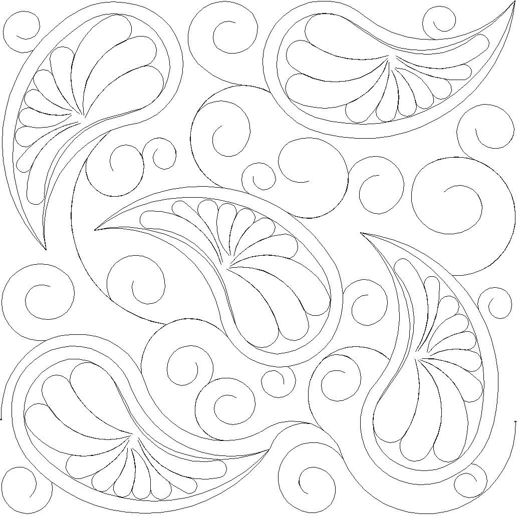 Shop | Category: Feathers / Pearls / curls | Product: Paisley and ...