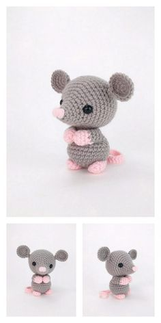 Amigurumi Baby Mouse Free Pattern – Free Amigurumi