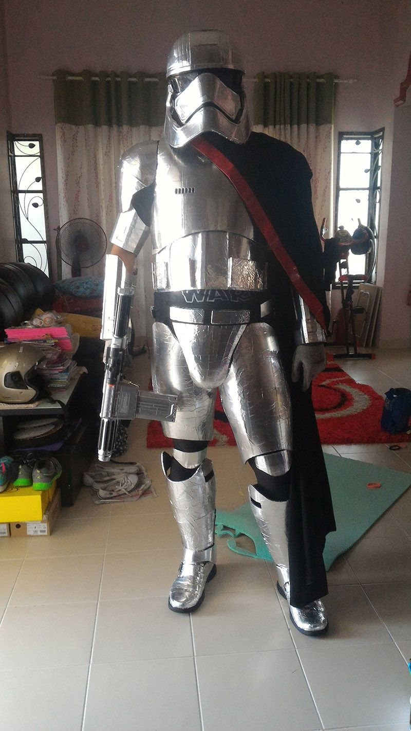 3DPrinted Captain Phasma Costume « Adafruit Industries – Makers, hackers, artists, designers and engineers!