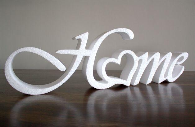 Buchstaben & Schriftzüge Home DekorSchriftzug 55cm