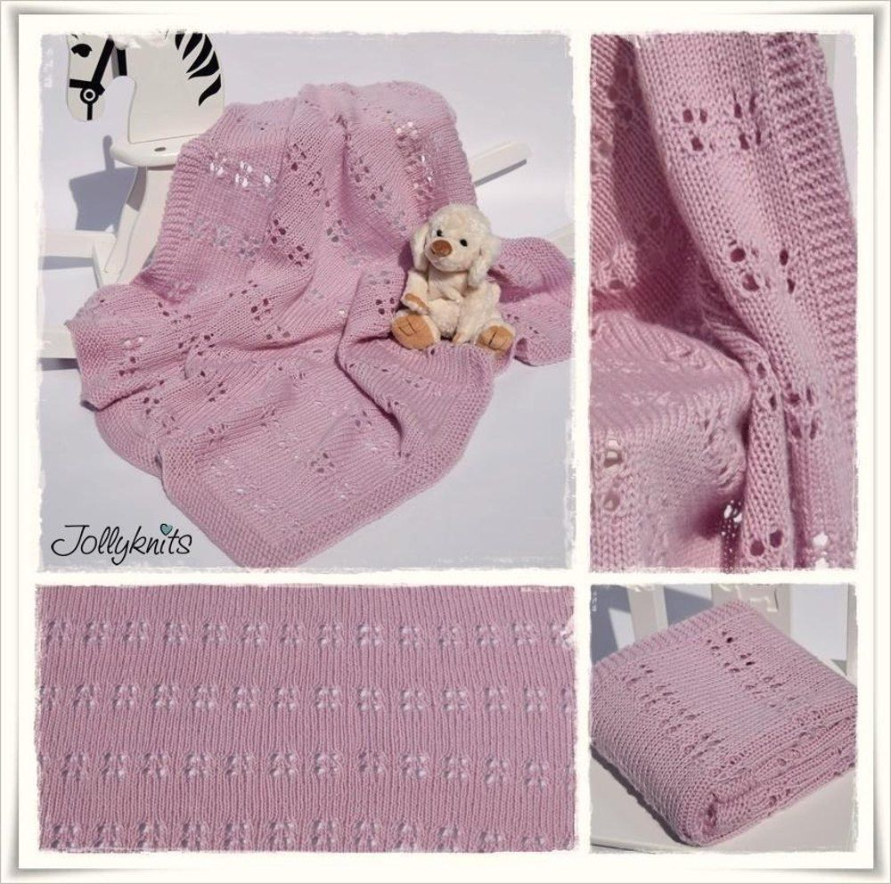 905d537766b4 Knitting Pattern Baby Blanket Camelia