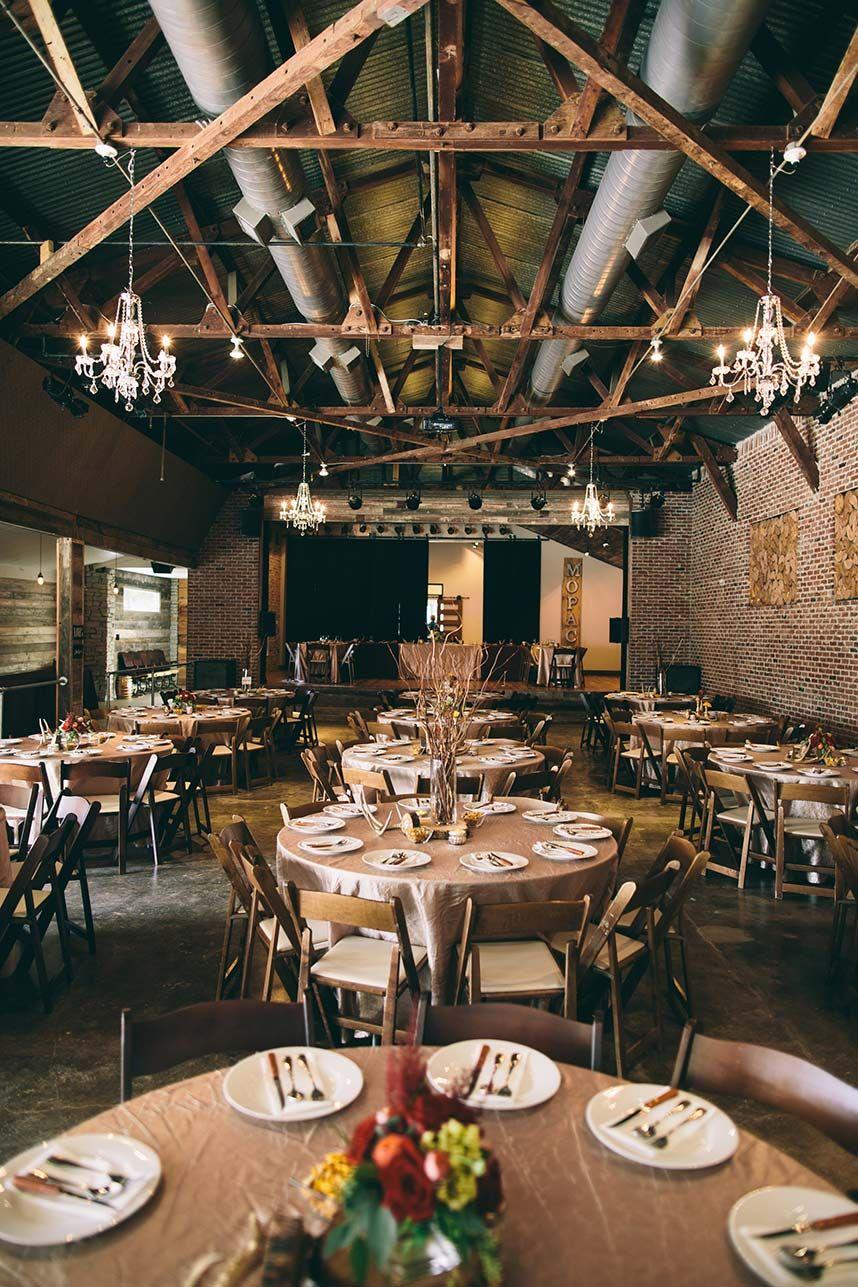 Mopac event center Fort Worth Because Wedding Pinterest