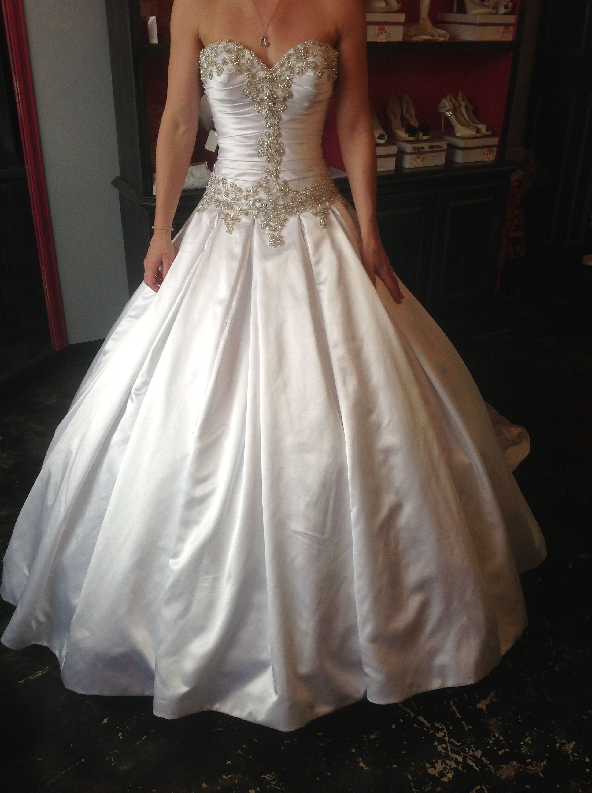 92690884dcbf Allure 9003 in white. Find this Pin and more on The Princess Bridal ...