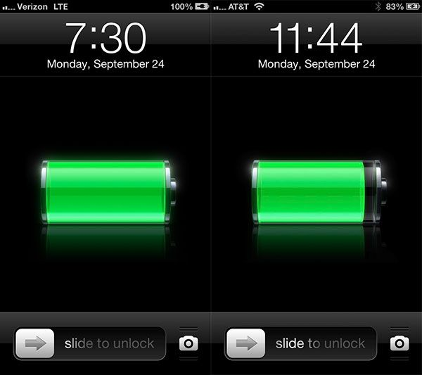 Battery app for iPhone 5