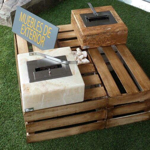 Mesa de centro hecha de cajas recicladas #mueblesreciclados - muebles reciclados