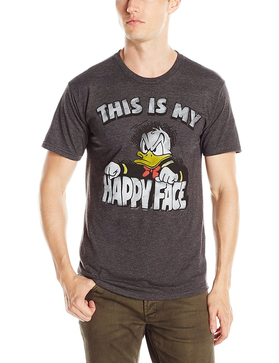 bffa824a6b Amazon.com: Disney Men's Donald Duck T-Shirt: Clothing. Angry Donald Duck -  Cool and Funny.