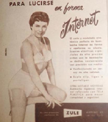 Para lucirse en forma: Internet