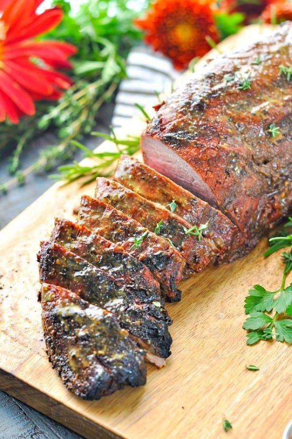 Photo of Southern Bourbon-Glazed Beef Tenderloin Recipe