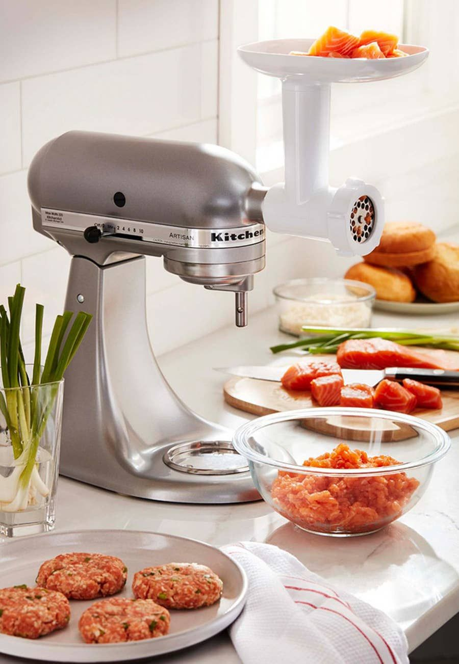 making pasta with kitchenaid meat grinder