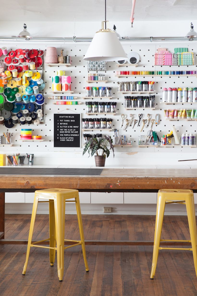 6 Tips for Decking Out Your Dream Craft Room - Camille Styles