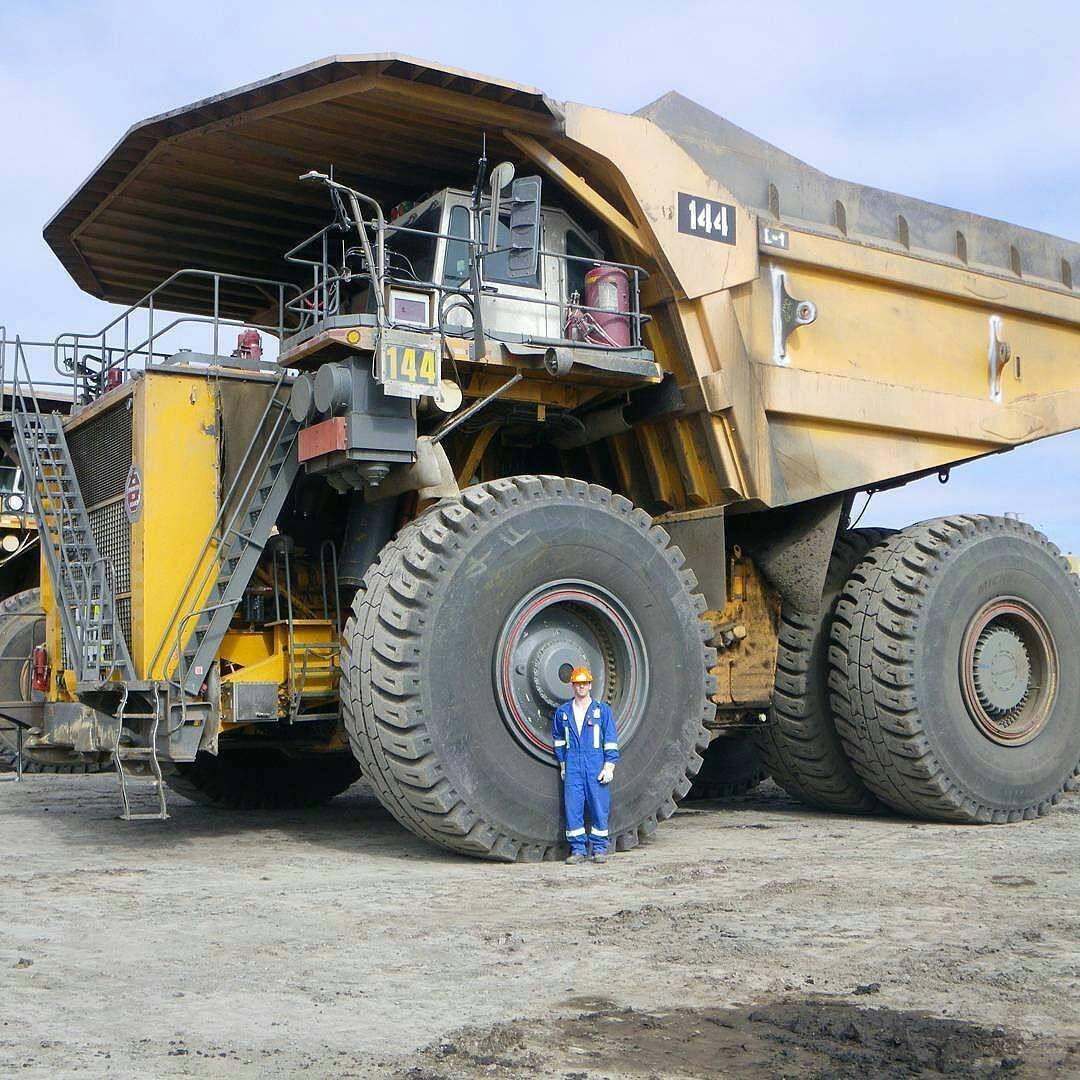 A haul truck