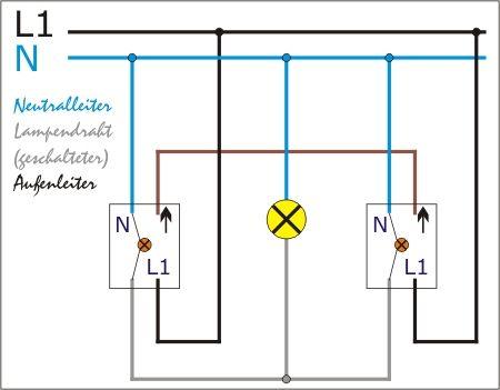 Bildergebnis für wechselschaltung | Elektro | Pinterest | Elektro