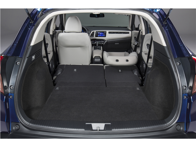 2017 Honda Hr V Ex Awd Cvt 24 3 Cubic Feet Of Cargo Space Which Is Increased To 58 8 Cubic Feet When You Fold The Rear Seats Down That S More Than Most Class