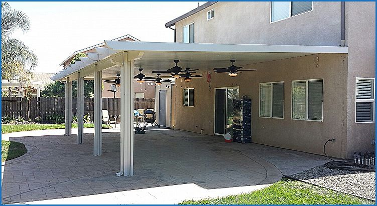 Lovely Arrow Patio Cover Attachment 10 By 20 Feet