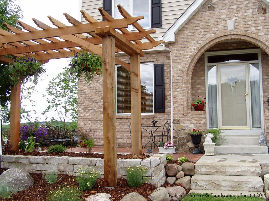 Front Entry Garden Room Charming Front Yard Patio Backyard Ideas
