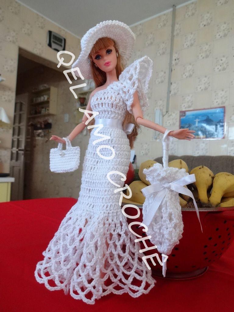 Pin de Olga Ríos en Crochet para Barbys | Pinterest | Barbie, Ropa ...