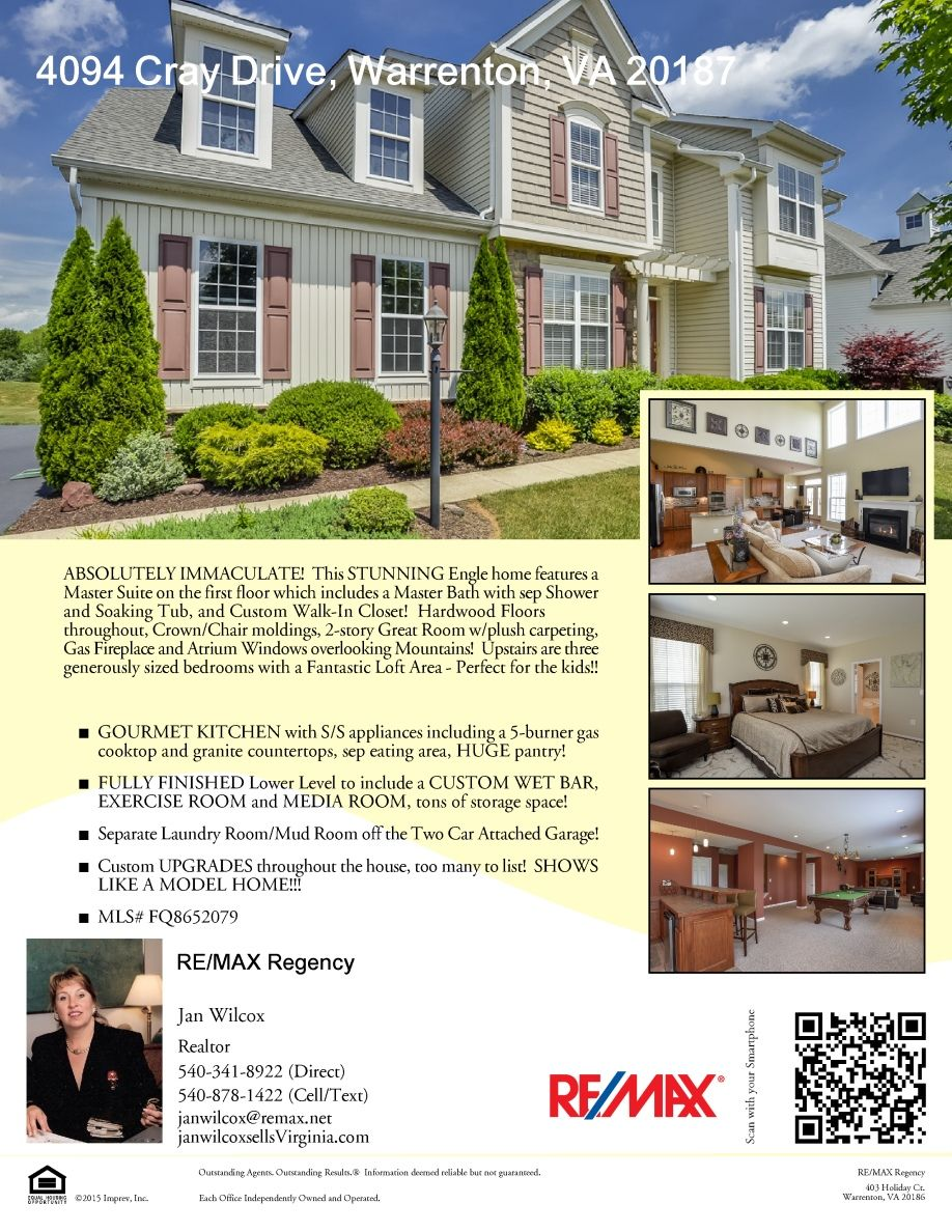 4094 Cray Dr Flyer With Images Custom Walk In Closets Gas