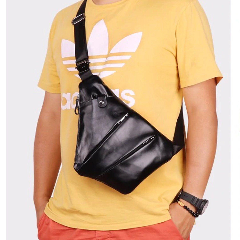 TFONE Snowflake Pattern Crossbody Bag Lightweight Chest Shoulder Messenger Pack Backpack Sling Bag