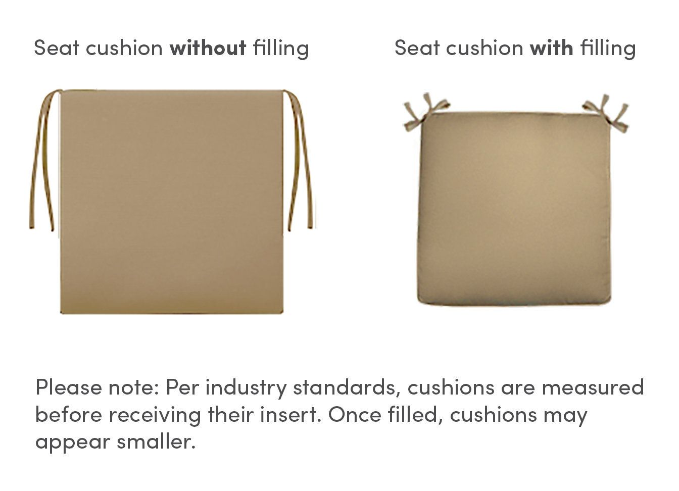 seat and back cushion cover for crosson deep seating group