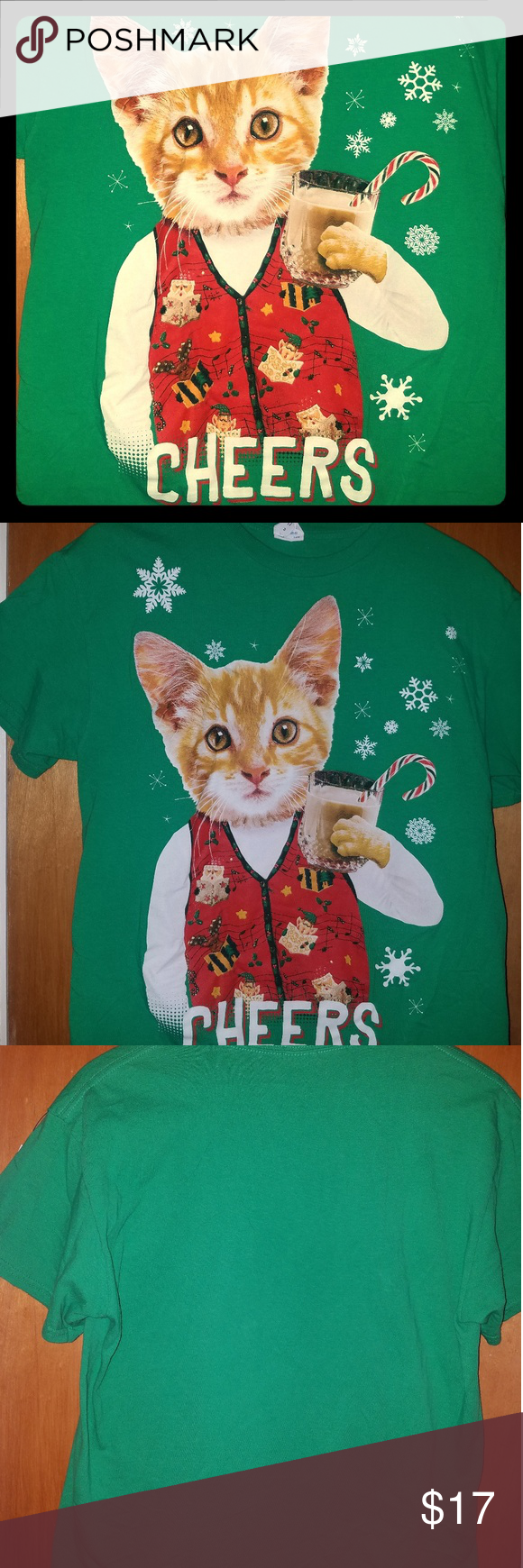 Funny kitten shirt Ugly Christmas Sweater in 2018 | My Posh Picks ...