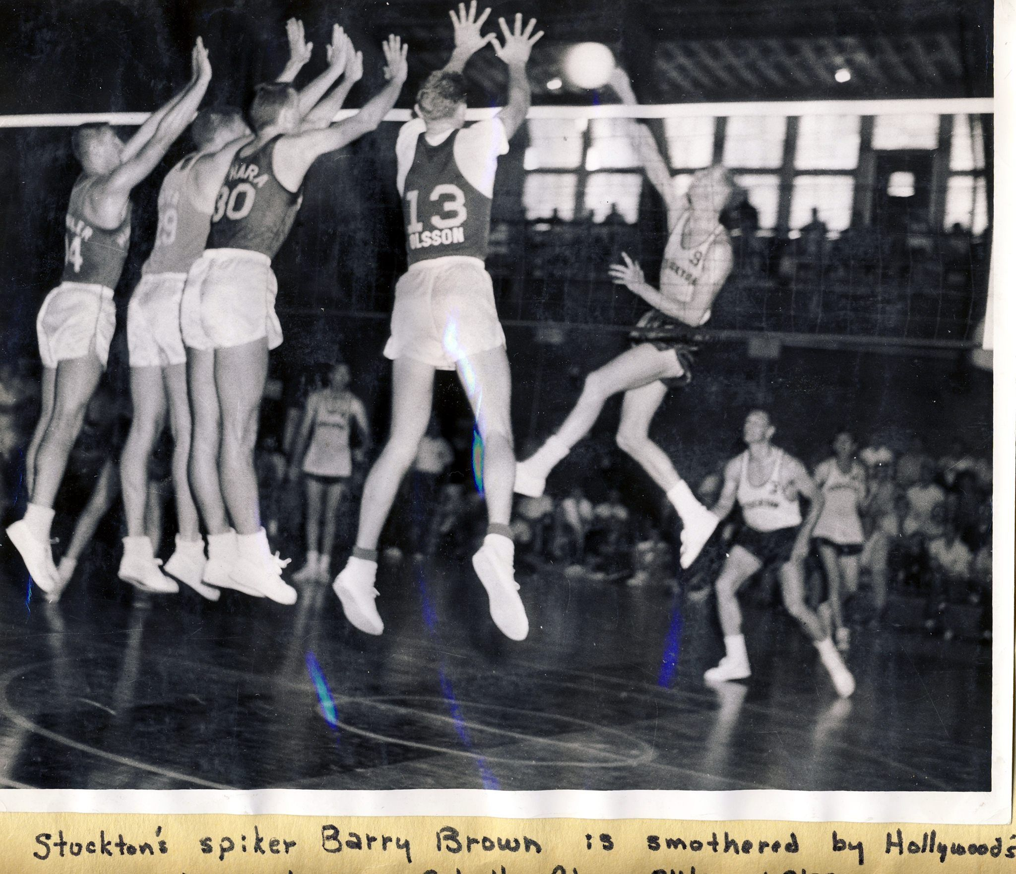 1960s Volleyball When You Could Have Four Blockers Insane Getair Voleybol