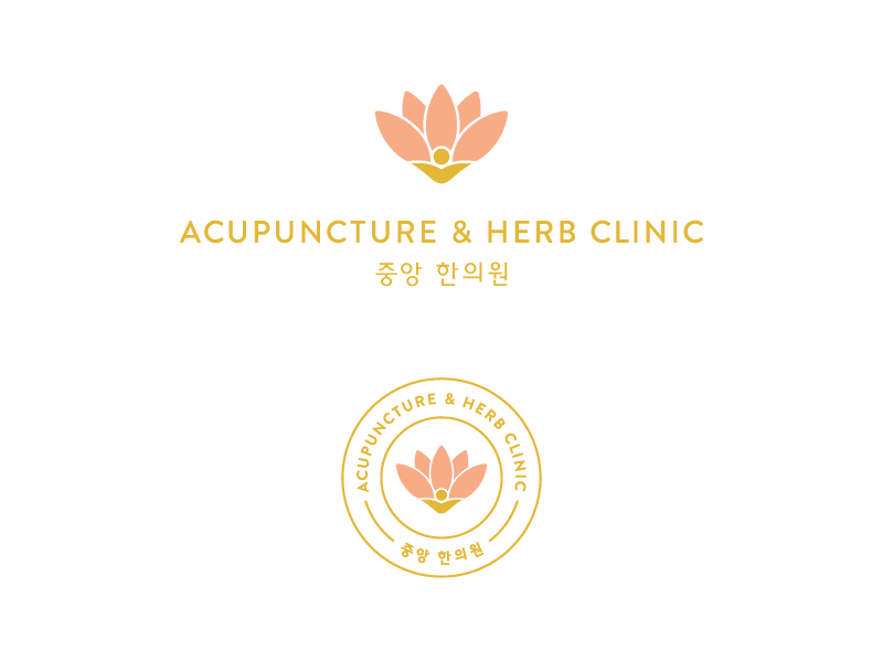 Acupuncture Herb Clinic No1 Wellpdx Logo Design