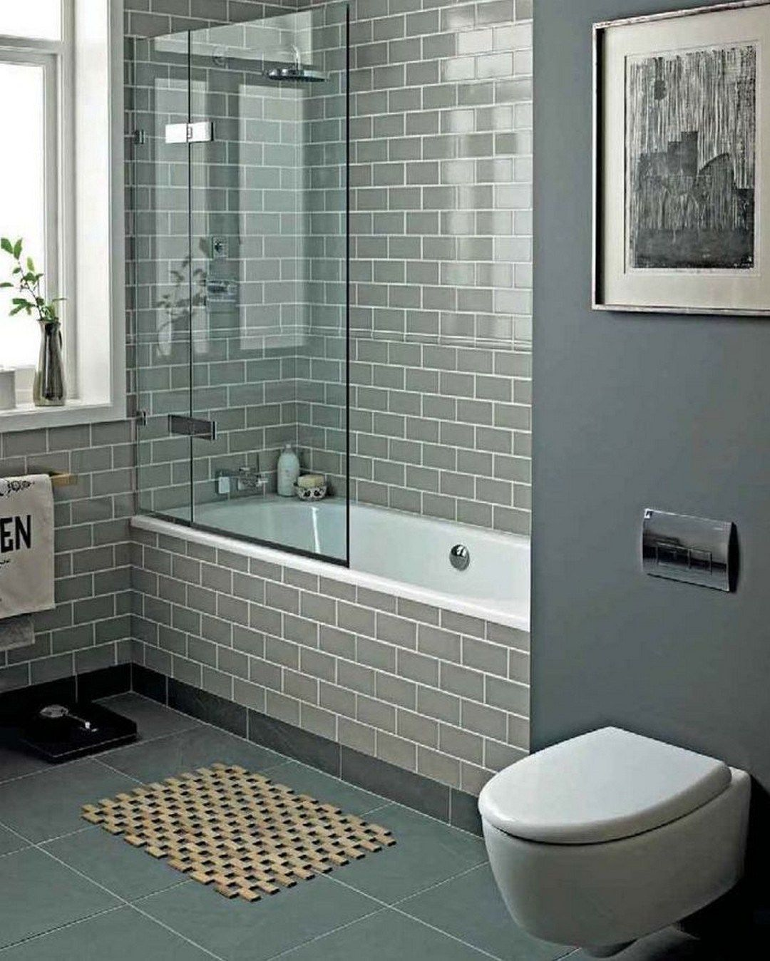 Small Bathroom Tub And Shower Combo: 99 Small Bathroom Tub Shower Combo Remodeling Ideas (79