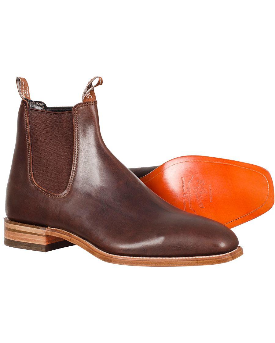 758661e9011 R.M.Williams Craftsman Calf Vesta Brown | Mostly fashion | Boots ...
