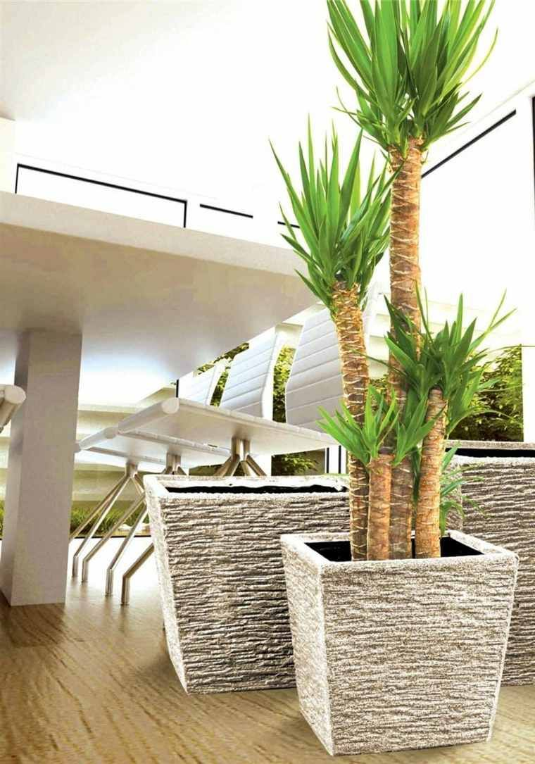 Pot Plante Exterieur Moderne Jardiniere Terrasse En 2019