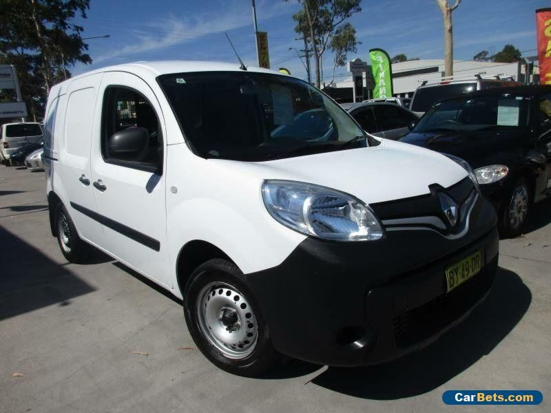 8c532abc57 2013 Renault Kangoo X61 MY13 White Automatic 4sp A Van  renault  kangoo   forsale  australia