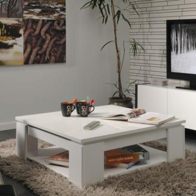 Buy Parisot Quadri Coffee Table In Shiny White From Furniture123 The Uk S Leading Online Furniture And Bed Store Coffee Table Furniture Home