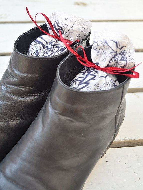 Shoe Deodorizer Lavender Shoe Freshener Sachet by TheSenseOfNature