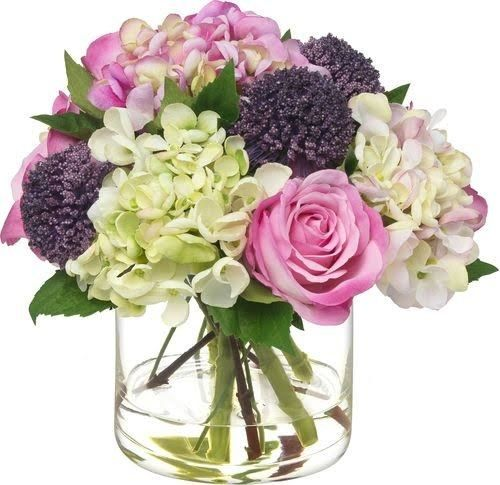 7 Faux Flowers That Look Impressively Real Fake Flower Arrangements Artificial Flower Arrangements Artifical Flowers