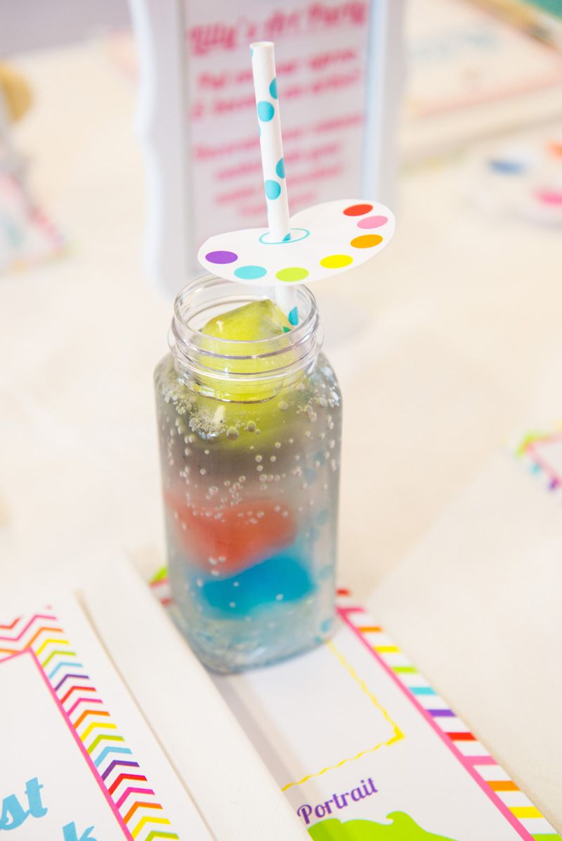 Rainbow-Drink-Party