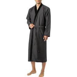 Photo of Casaco de sauna Morgenstern para homem, forro de algodão felpudo, cinza Morgenster estampado com grafite preto