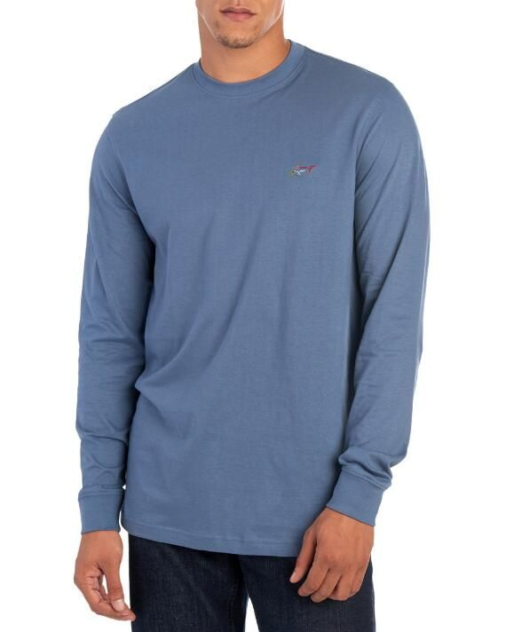 a95c41fad097 Shark Crew Neck Long Sleeve Tee Shirt in 2019 | Gift Ideas | Long ...