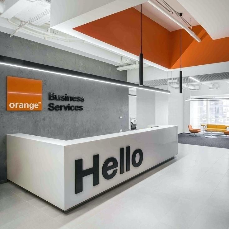 Small Office Reception Area Layout Ideas Gallery Of Orange
