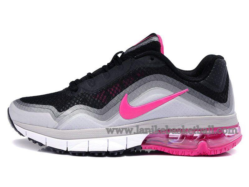 buy online b424d cde9a Nike Air Max TR 180 Chaussure Pour Femme Noir Rose 537803-018