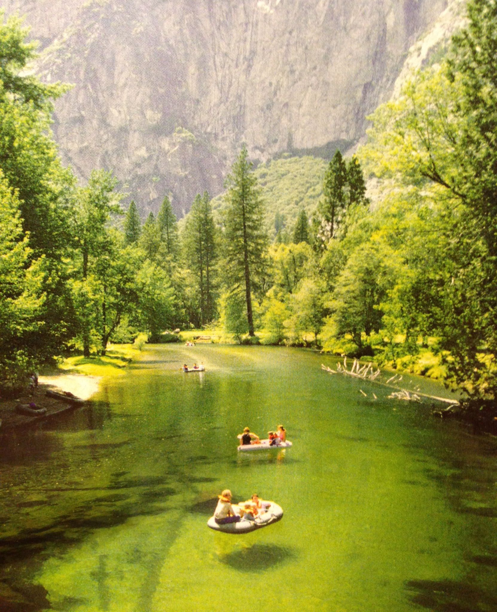 Yosemite National Park Rivers