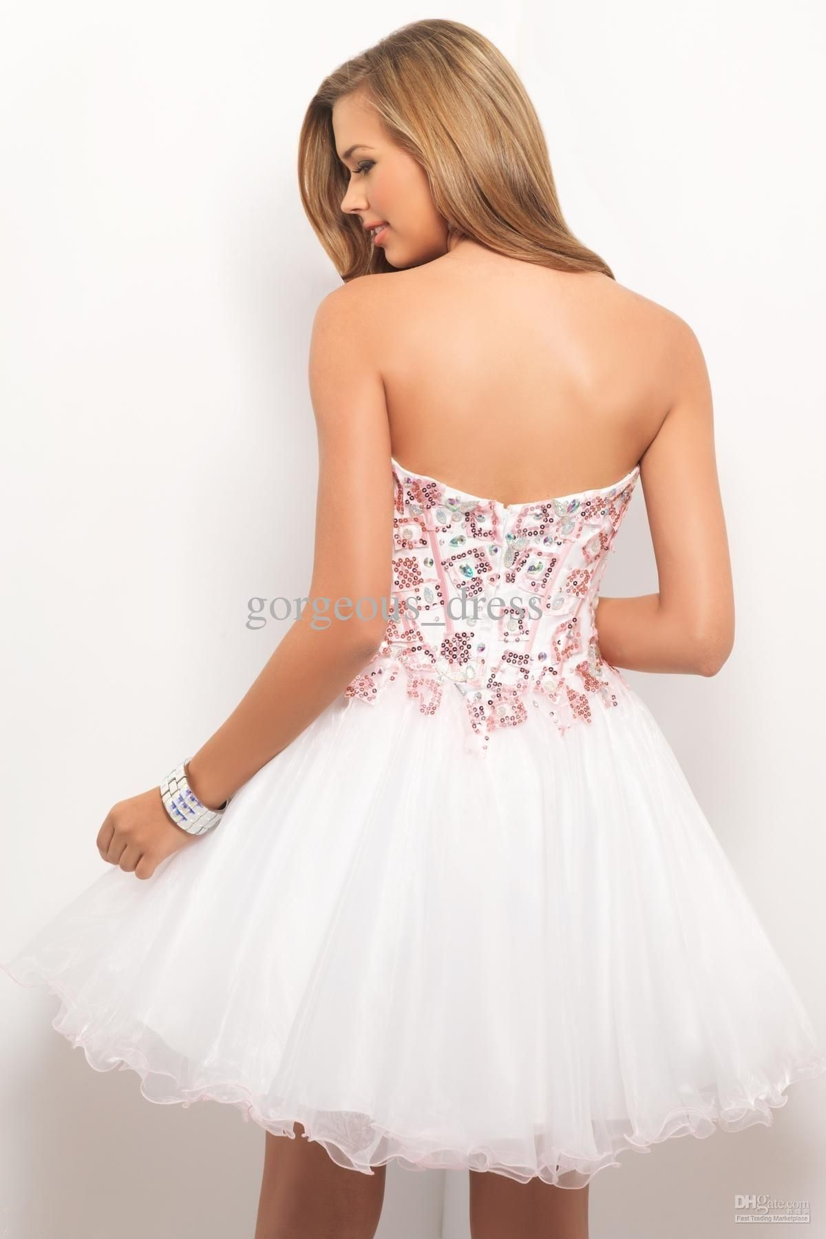Night Moves Prom Dresses Beautiful Sweetheart A Line White Prom ...
