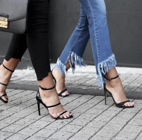 Flecos Y Utilizar Vaqueros Jeans Zapatos Moda YzOFwq