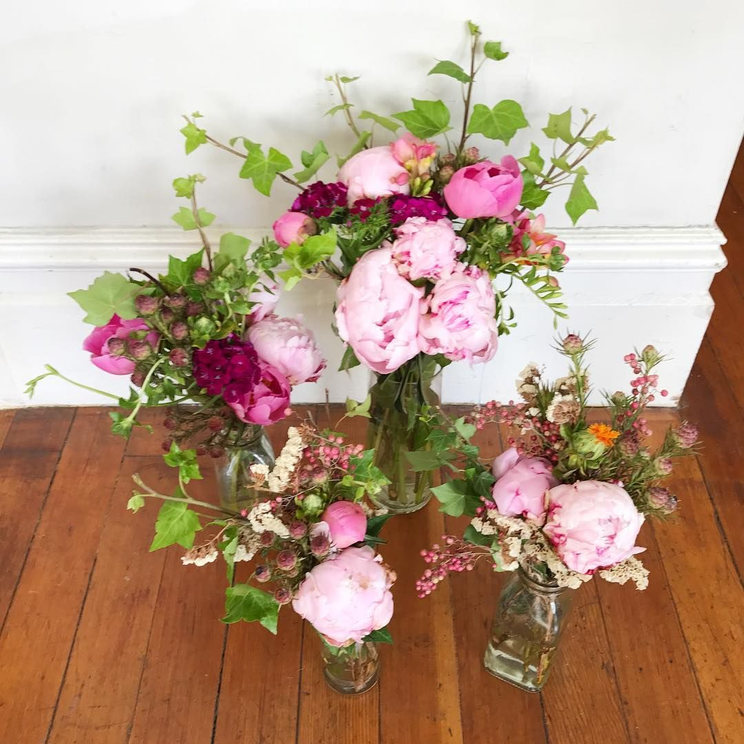 Pink Peony Fun Flower Arrangements Made With Peonies Ivy