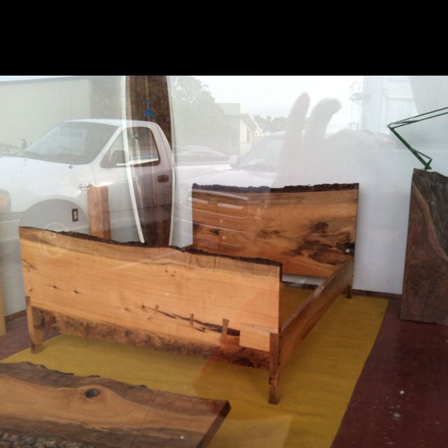 Gorgeous Bed Frame At Woodshop San Francisco For The Home