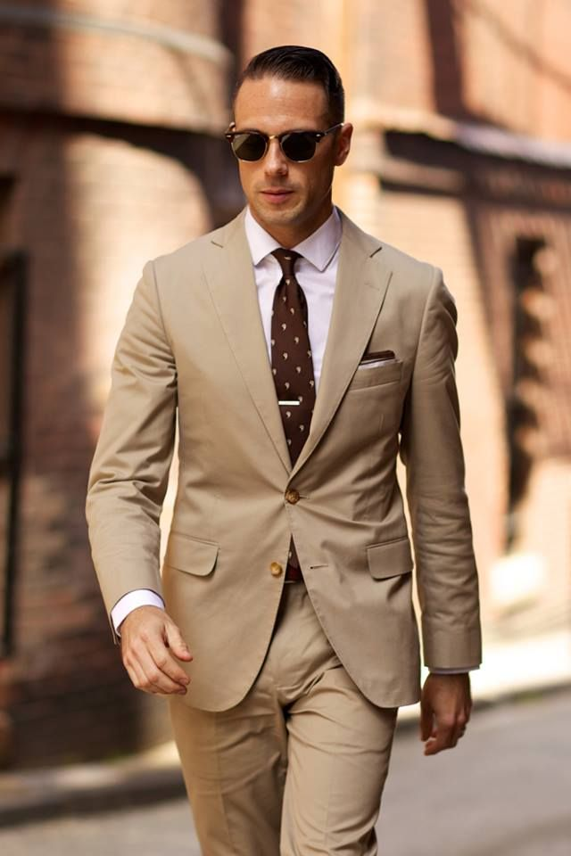 So this looks like a suit you\'d get at Banana Republic and that\'s ...