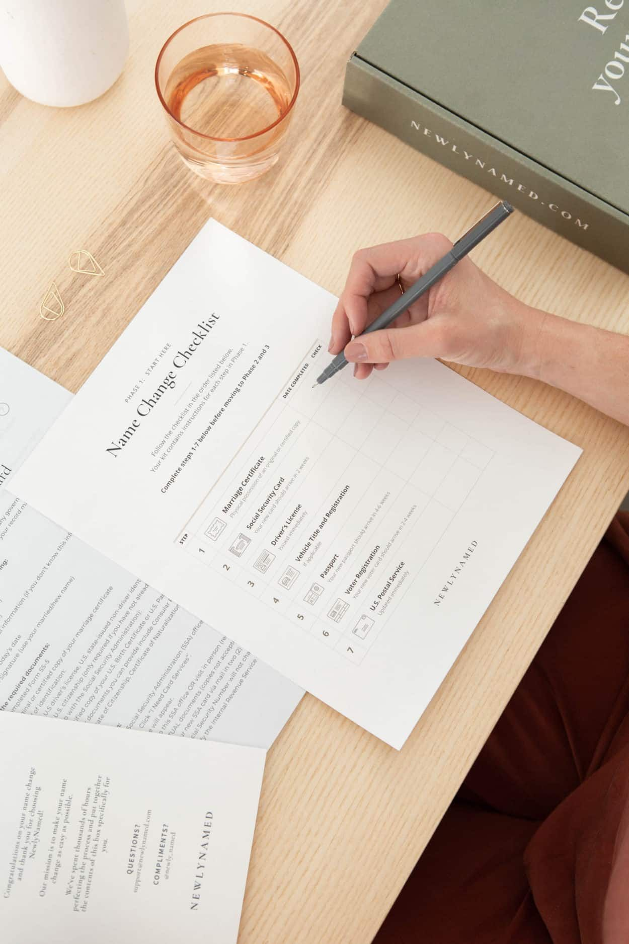 Learn How To Change Your Last Name After Marriage Name Change